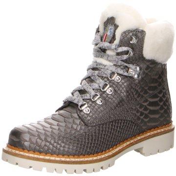 New Italia Shoes Boots grau
