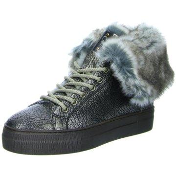 Donna Carolina Sneaker High silber