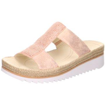 Gabor Plateau Pantolette rosa