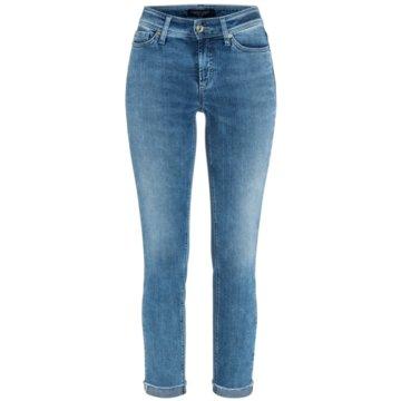 Cambio SkinnyPiper short blau