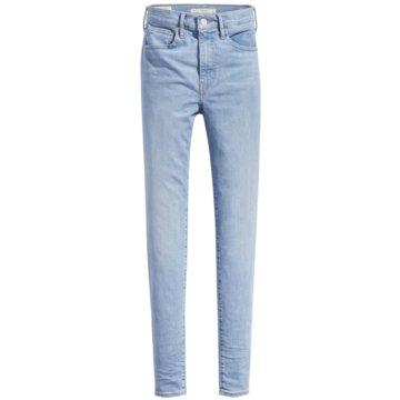 Levi's® DamenmodeMile High Super Skinny Jeans blau