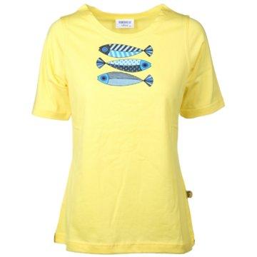wind sportswear T-Shirts gelb