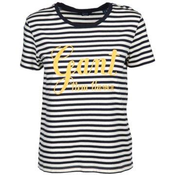 Gant T-Shirts blau