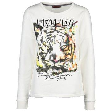Frieda & Freddies Sweatshirts weiß