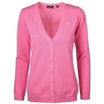 Gant StrickjackenSuperfine Lambswool Cardigan pink