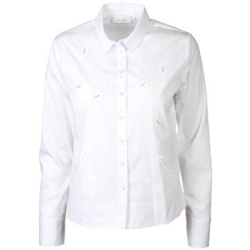 Just White Blusen weiß