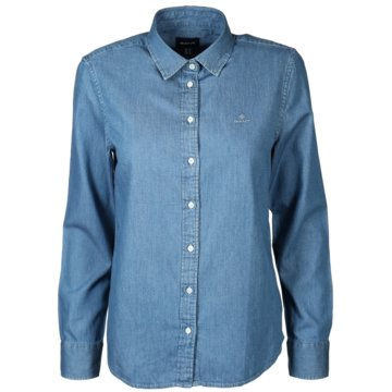 Gant DamenmodeD1. LUXURY CHAMBRAY SHIRT blau