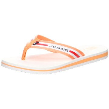 Tommy Hilfiger Bade- Zehentrenner orange
