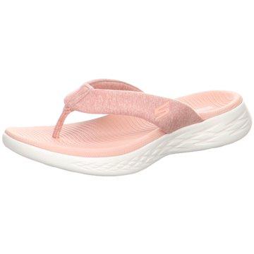 Skechers Bade-Zehentrenner rosa