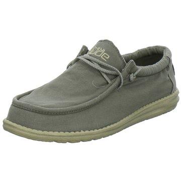 Hey Dude Shoes Mokassins SchnürschuhWally washed grau