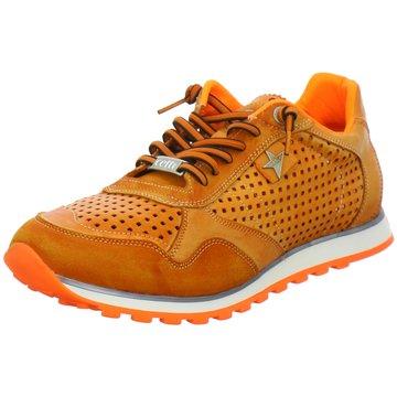 Cetti Sportlicher Schnürschuh orange