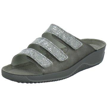 Rohde Komfort Pantolette grau