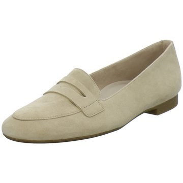 Paul Green Mokassin Slipper beige