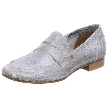 Ladyshoes Klassischer Slipper silber