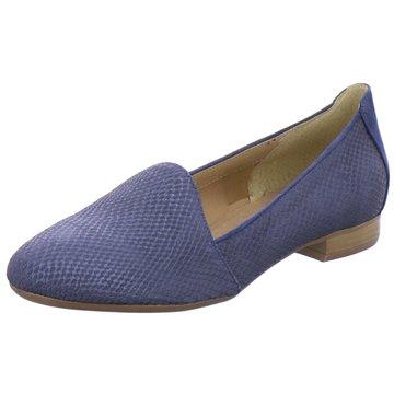 ELENA Italy Klassischer Slipper blau