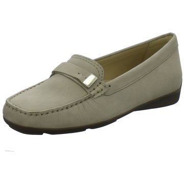 Wirth Mokassin Slipper grau