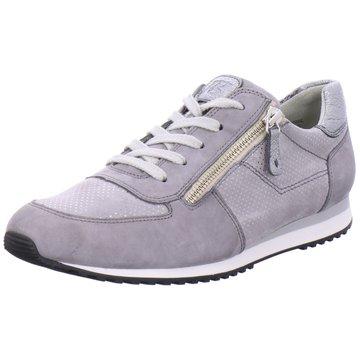 Paul Green Sneaker LowNubukleder grau
