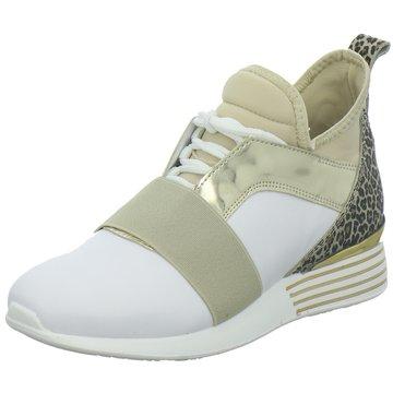 hip shoe style Sportlicher Slipper weiß