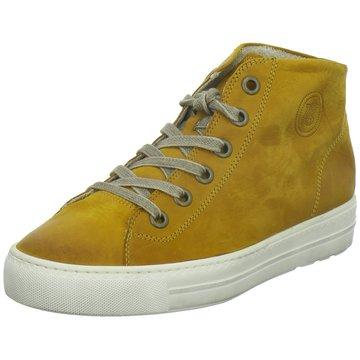 Paul Green Sneaker HighSneaker gelb