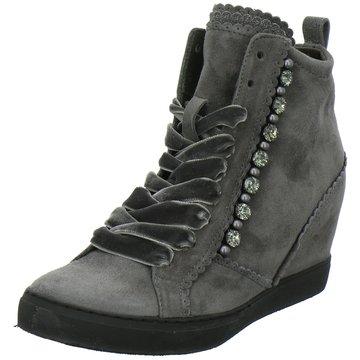 Maripé Sneaker Wedges grau