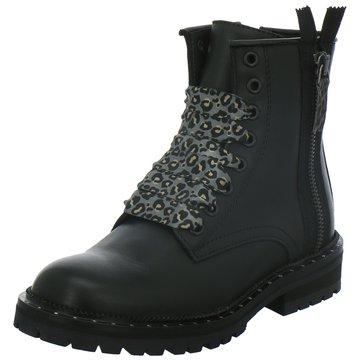 hip shoe style Schnürstiefel schwarz