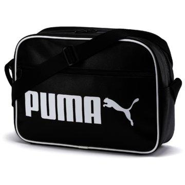 Puma SporttaschenCAMPUS REPORTER RETRO - 76642 schwarz