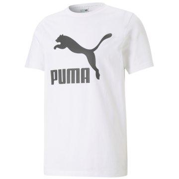 Puma T-ShirtsCLASSICS LOGO TEE - 530088 weiß