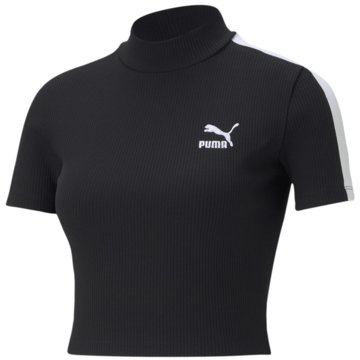 Puma T-ShirtsCLASSICS RIB MOCK NECK TOP - 530229 schwarz