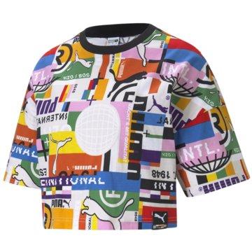 Puma T-ShirtsPI AOP TEE - 530740 weiß