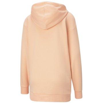 Puma SweatshirtsESS ELONGATED LOGO HOODIE - 586874 lila