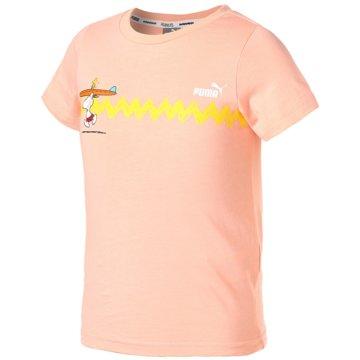 Puma T-Shirts X PEANUTS GRAPHIC TEE - 599463 lila