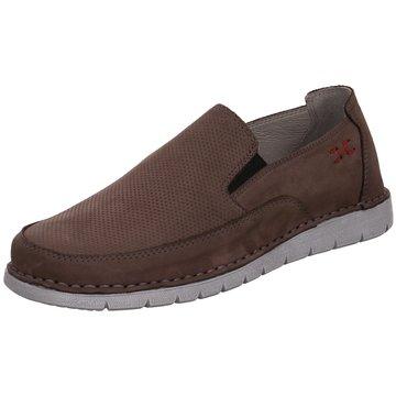 Free Walk Komfort Slipper braun