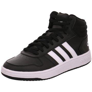 adidas Sneaker HighVS Hoops Mid 2.0 Schuh - BB7207 schwarz