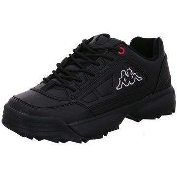 Kappa Sneaker LowRave NC schwarz