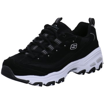Skechers Sneaker LowD Lites Biggest Fan schwarz