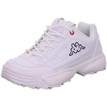 Kappa Sneaker LowRave nc weiß