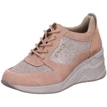 Mustang Sneaker Wedges rosa