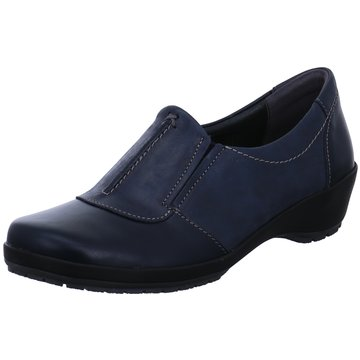 Comfortabel Komfort Slipper blau