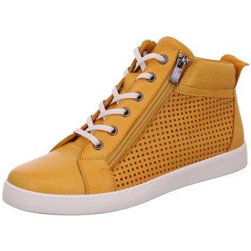 Rovigo Sportlicher Schnürschuh gelb