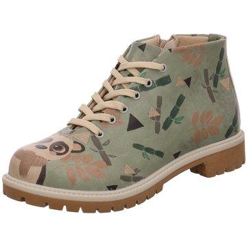Dogo Shoes Schnürboot grün