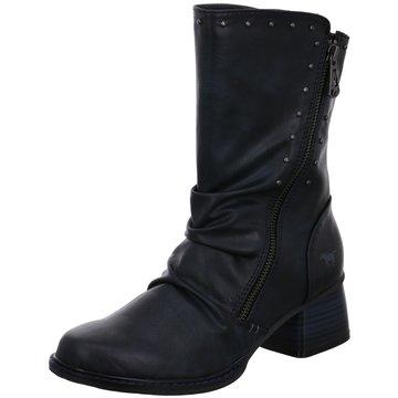 Mustang Klassischer Stiefel schwarz
