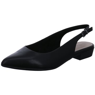 Tamaris Sling Ballerina schwarz