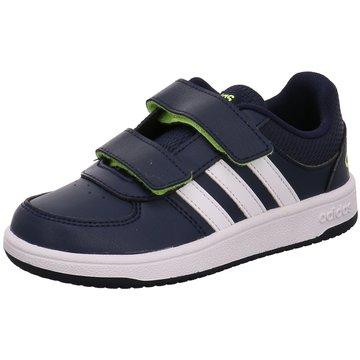 adidas KlettschuhVS HOOPS CMF C blau