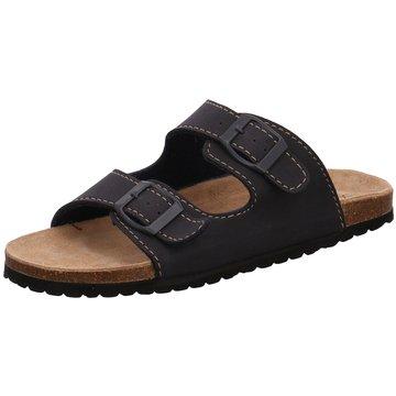 Softwaves Offene Schuhe blau