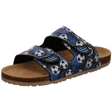 Bio Walker Offene Schuhe blau