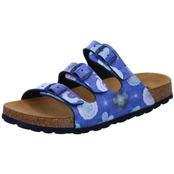 Bio Life Offene Schuhe blau
