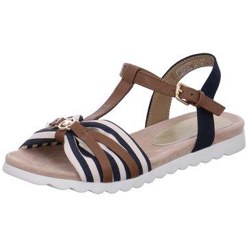 Supremo Offene Schuhe braun