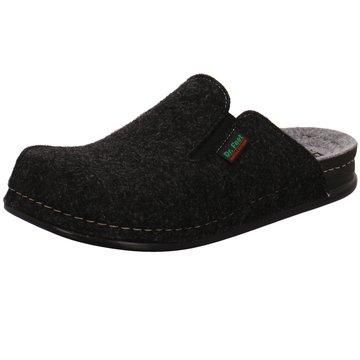 Dr. Feet Hausschuh schwarz