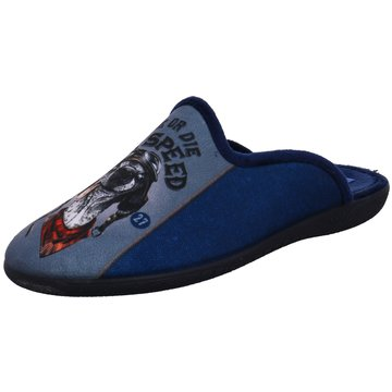 Alberola HausschuhHund blau