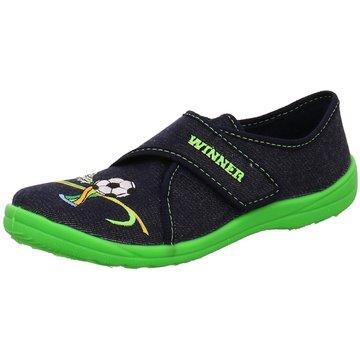 Fischer Schuhe Hausschuh grün